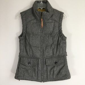 Eddie Bauer Lady Yukon Wool Down Puffer Vest